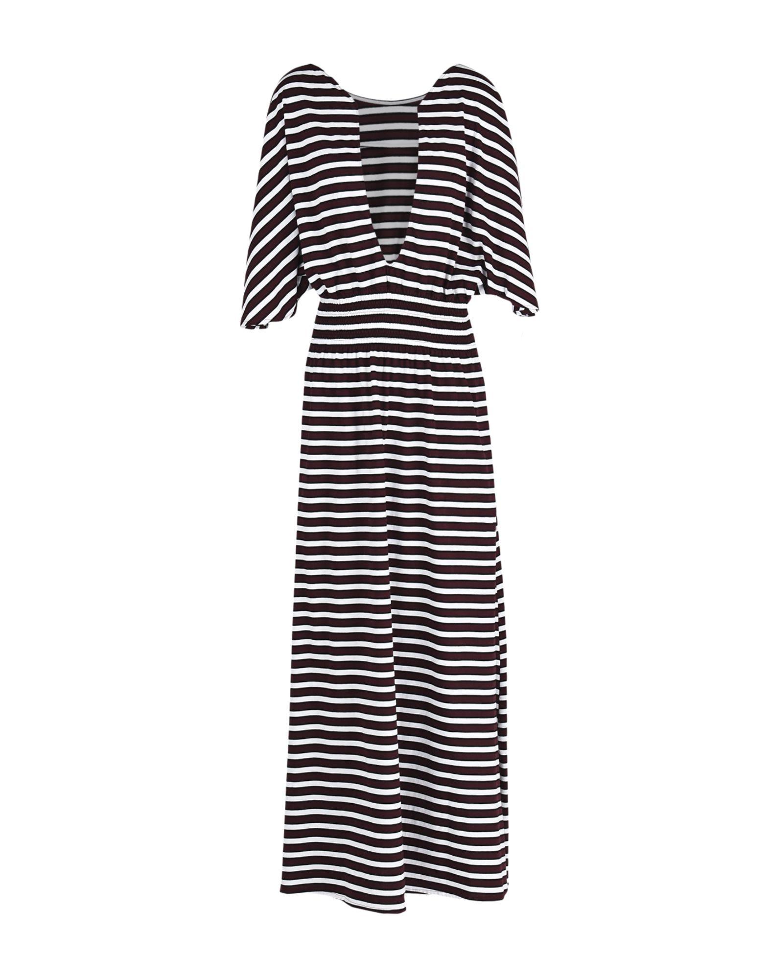 DOUUOD Long Dress in Maroon