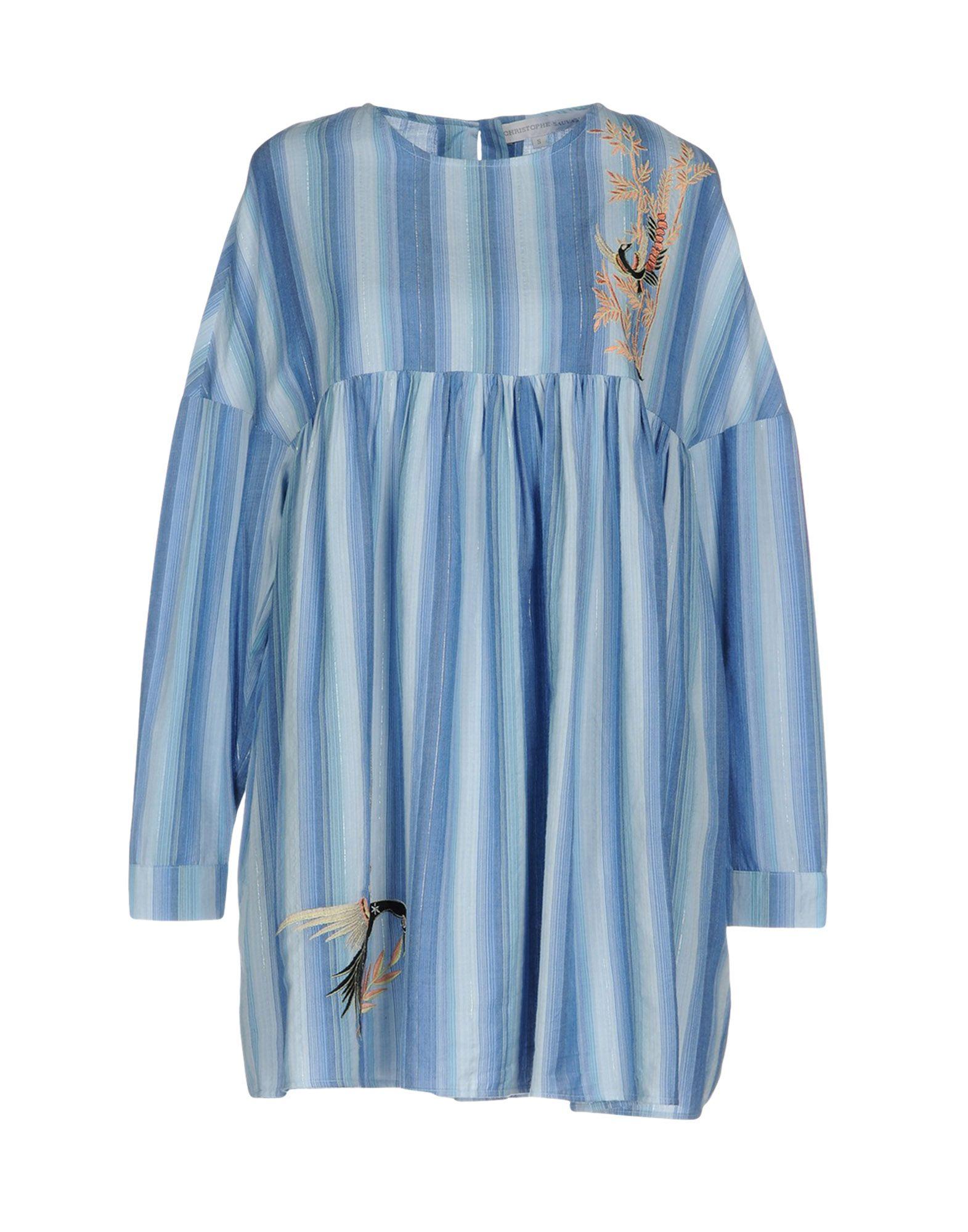 CHRISTOPHE SAUVAT Короткое платье цена 2017