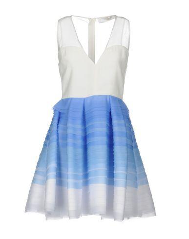 Фото - Женское короткое платье ELISABETTA FRANCHI GOLD лазурного цвета