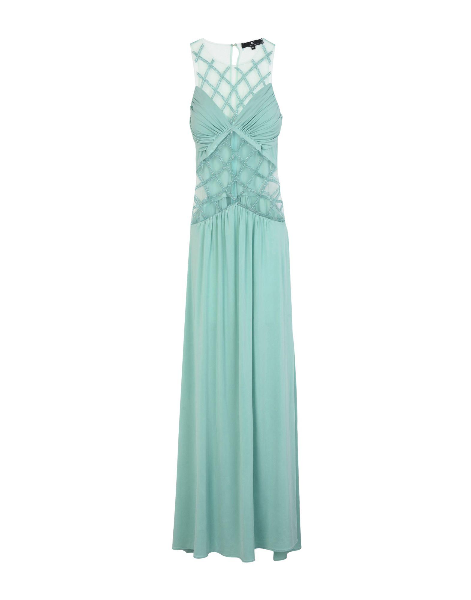 ELISABETTA FRANCHI Длинное платье недорго, оригинальная цена