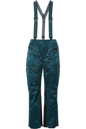ADIDAS by STELLA McCARTNEY Satin-jacquard ski pants