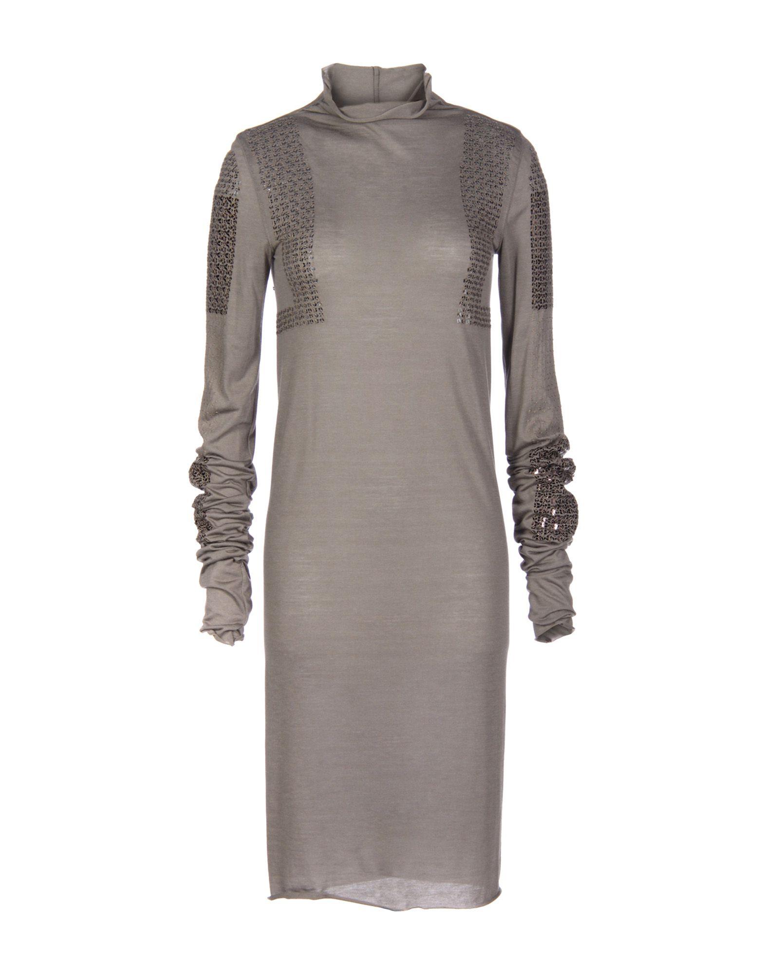 RICK OWENS LILIES Платье до колена цены онлайн