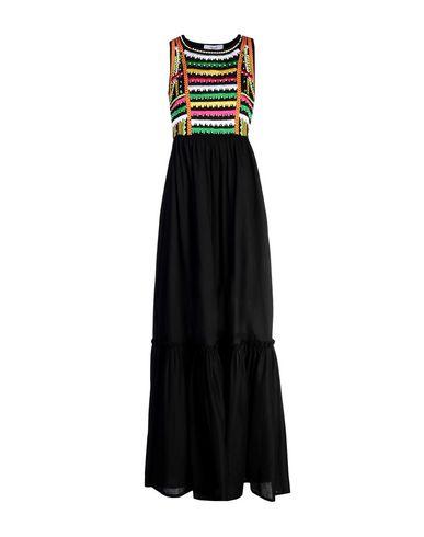 Фото - Женское длинное платье  черного цвета
