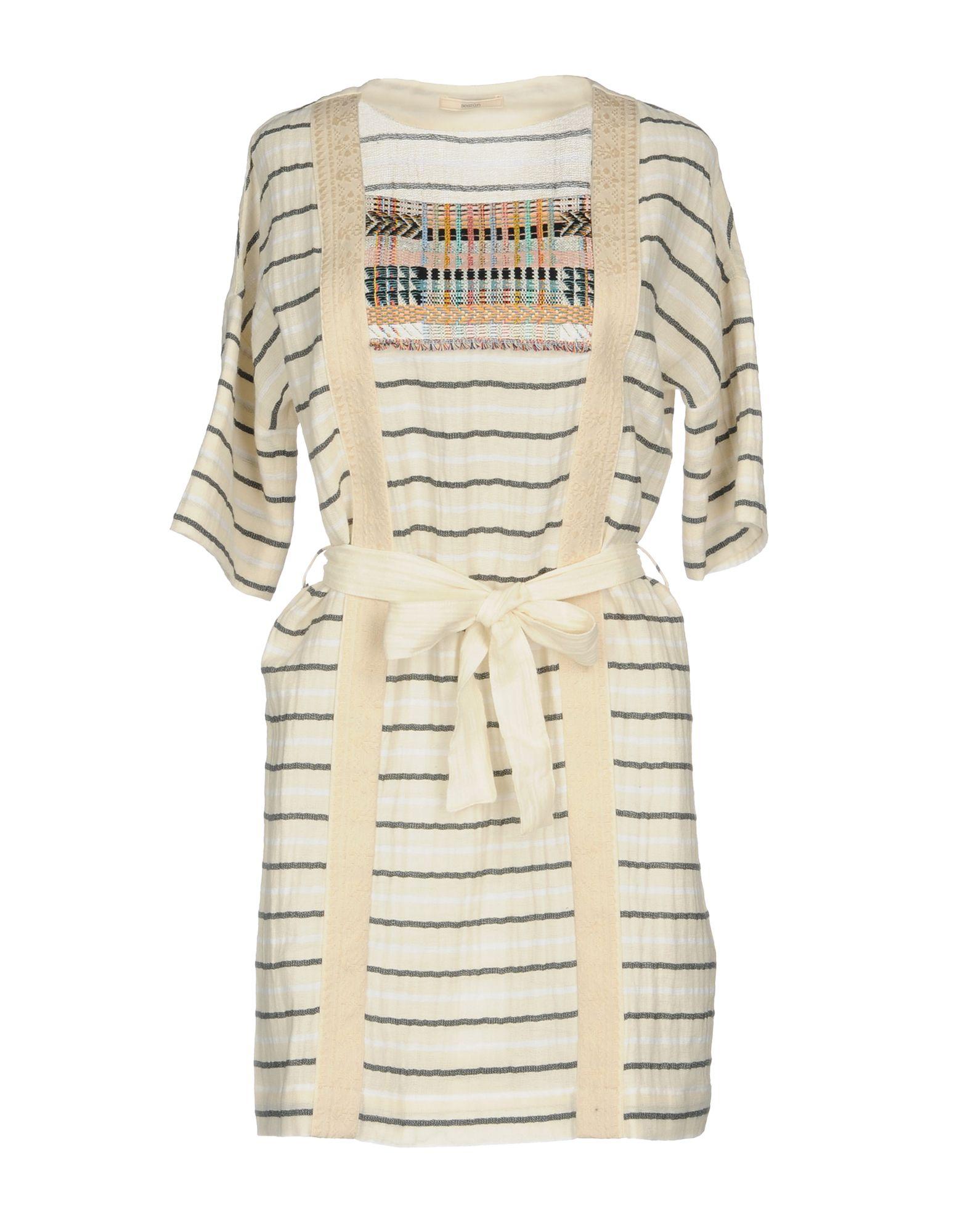 SESSUN Damen Kurzes Kleid Farbe Elfenbein Größe 5