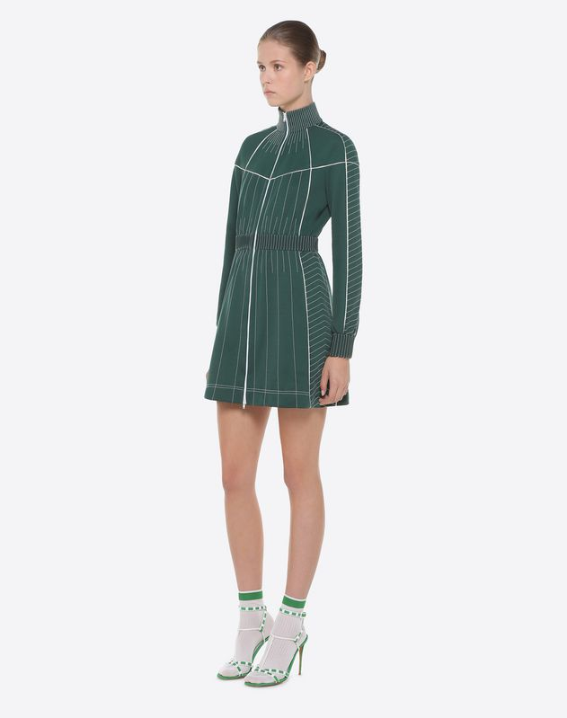Techno Jersey Dress