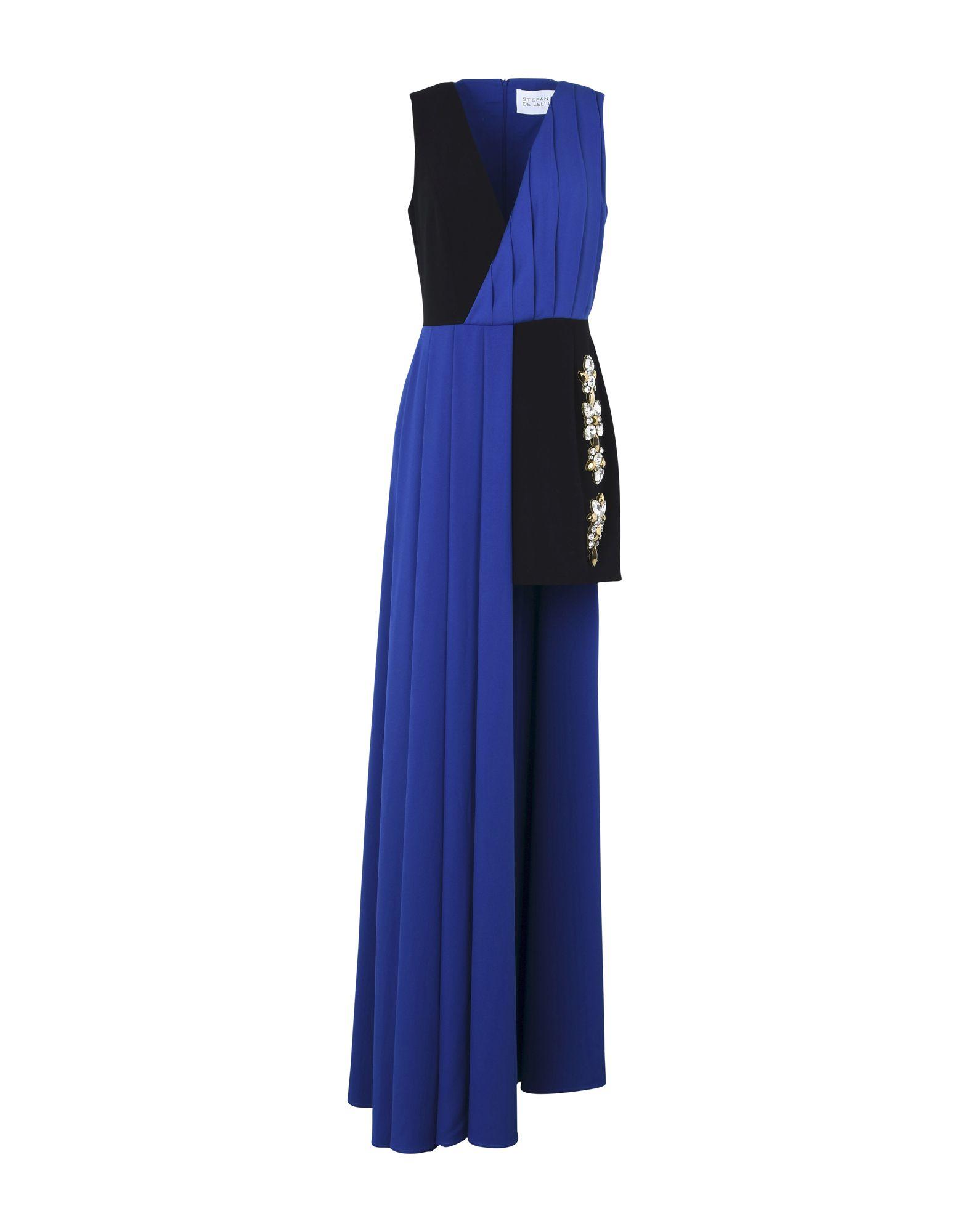 STEFANO DE LELLIS Short Dresses in Bright Blue