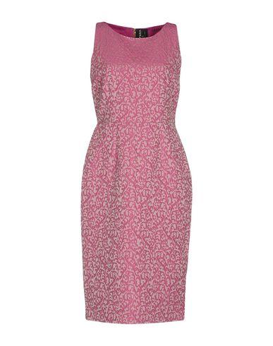 Фото - Платье до колена от FONTANA COUTURE светло-фиолетового цвета