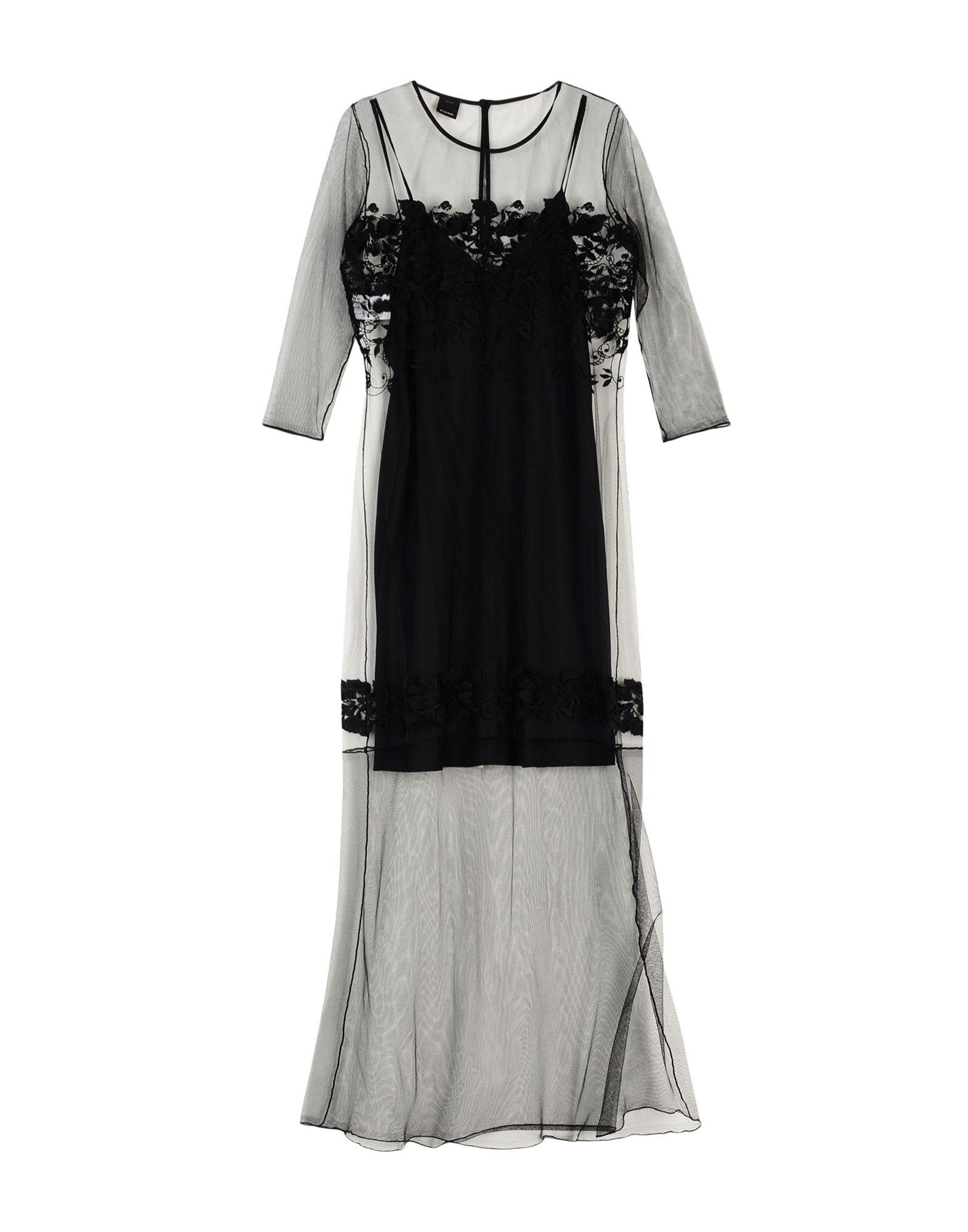 PINKO Длинное платье pinko black длинное платье page 9