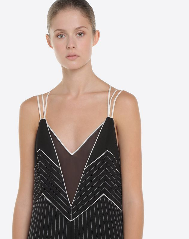 Vestido de tejido de punto Techno