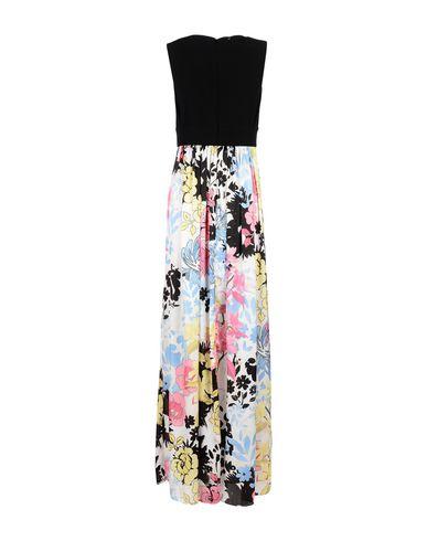 Фото 2 - Женское длинное платье ANNARITA N. черного цвета