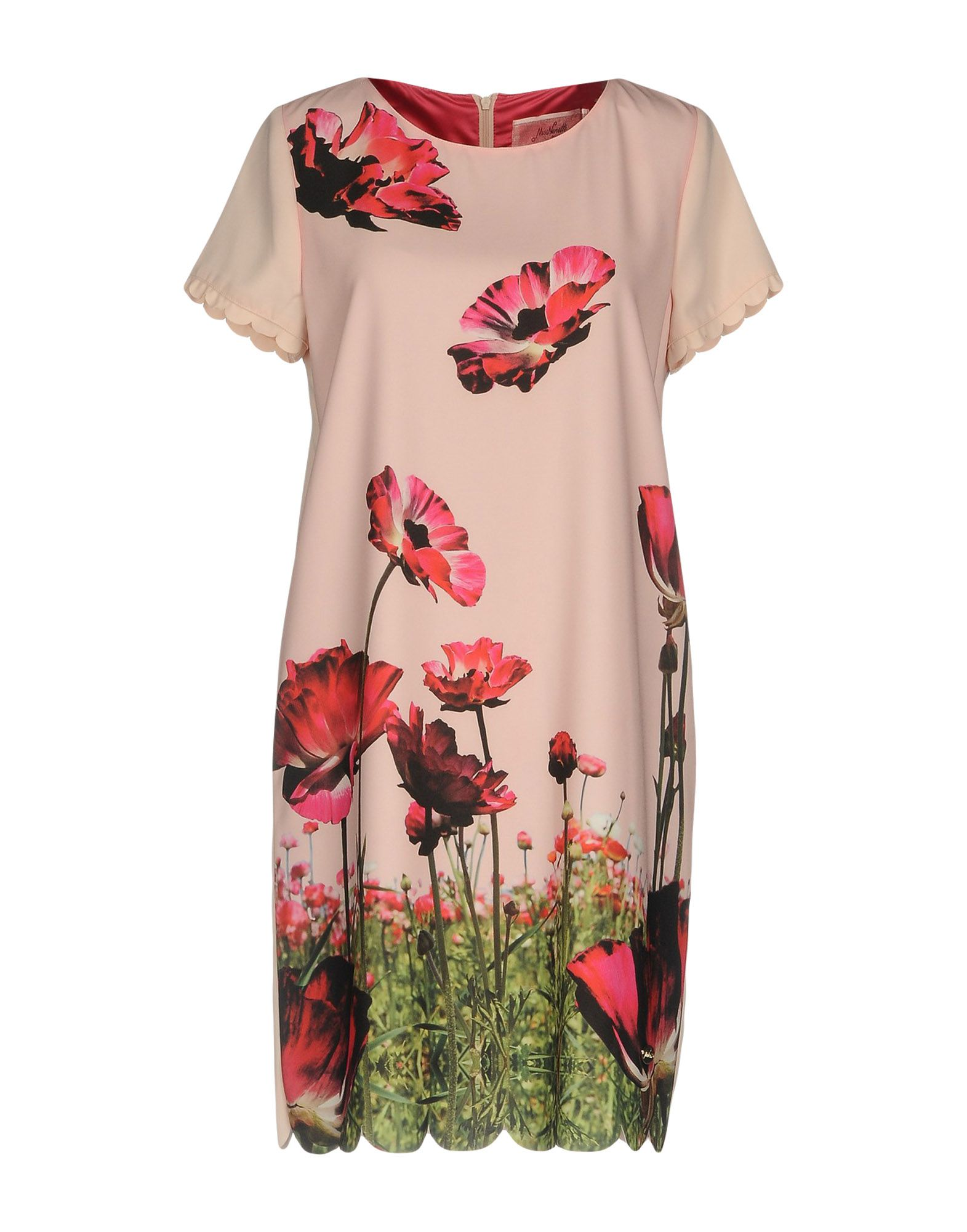 цена MISS NENETTE Короткое платье онлайн в 2017 году