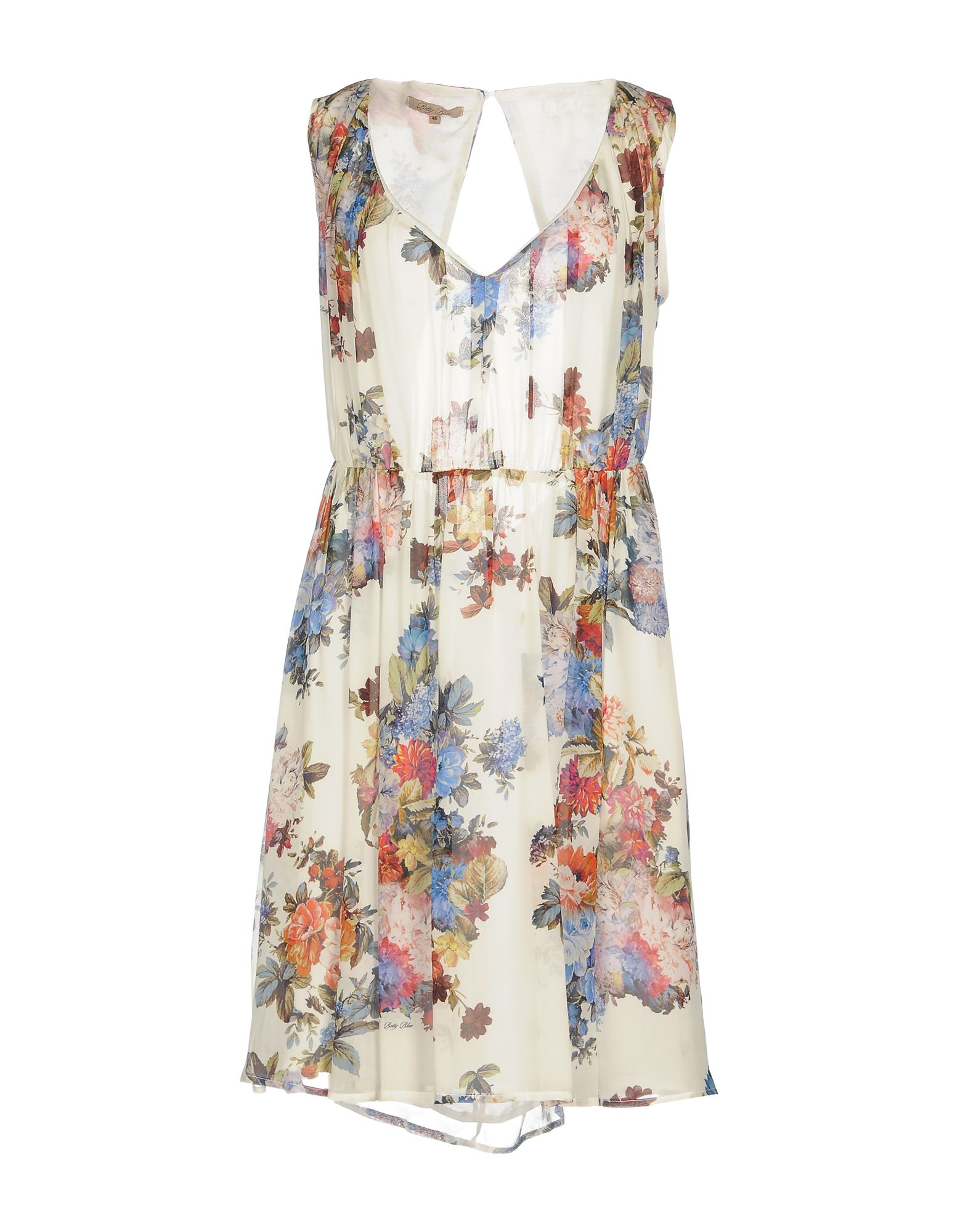 BETTY BLUE Платье до колена цены онлайн
