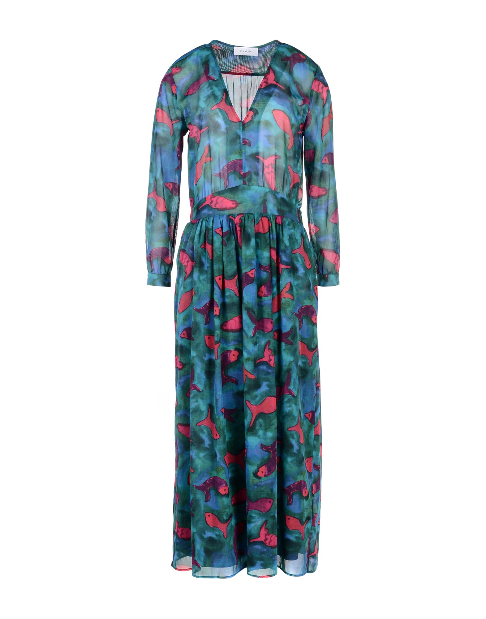 AGLINI Платье длиной 3/4 aglini платье длиной 3 4