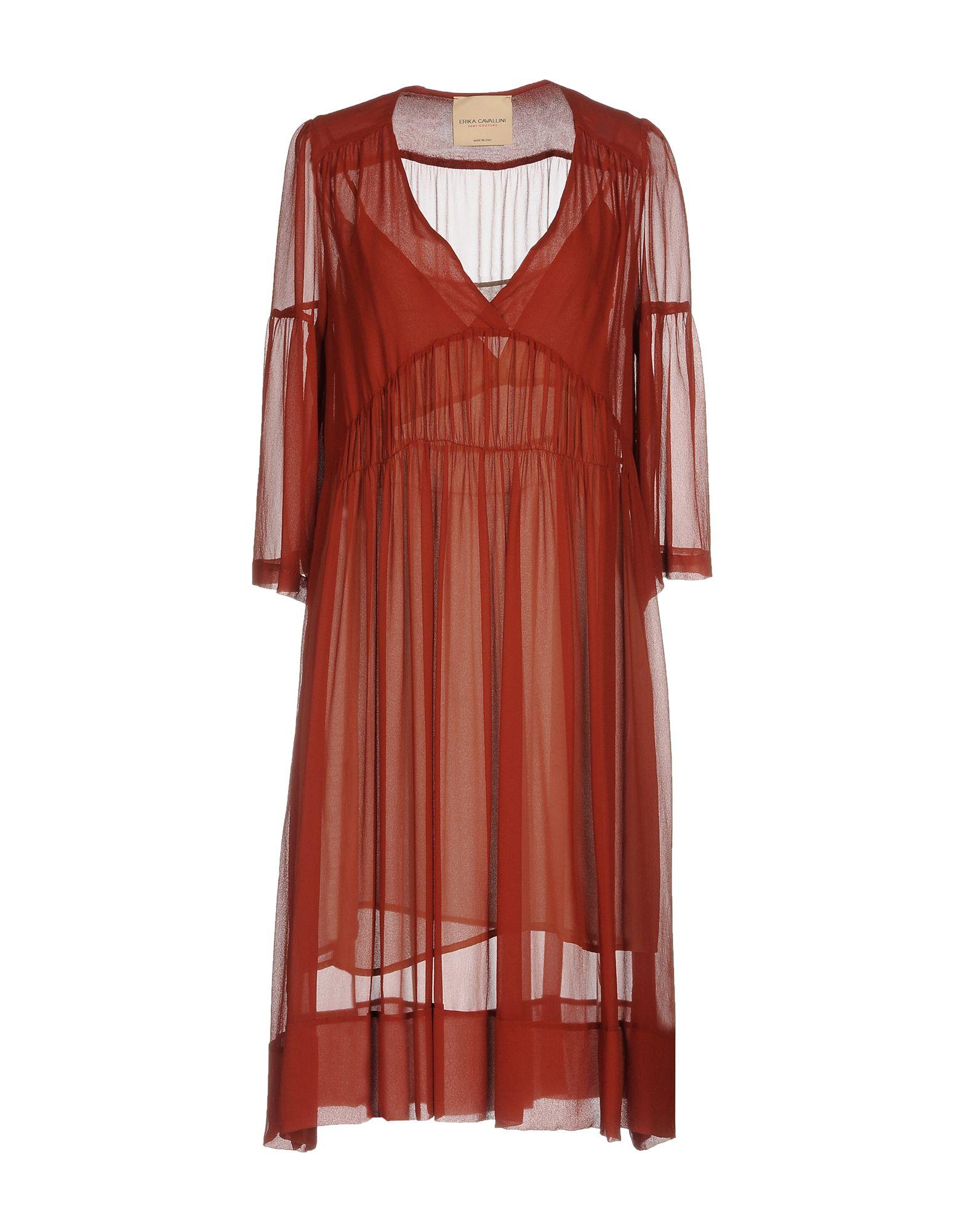 цены на ERIKA CAVALLINI Платье до колена в интернет-магазинах