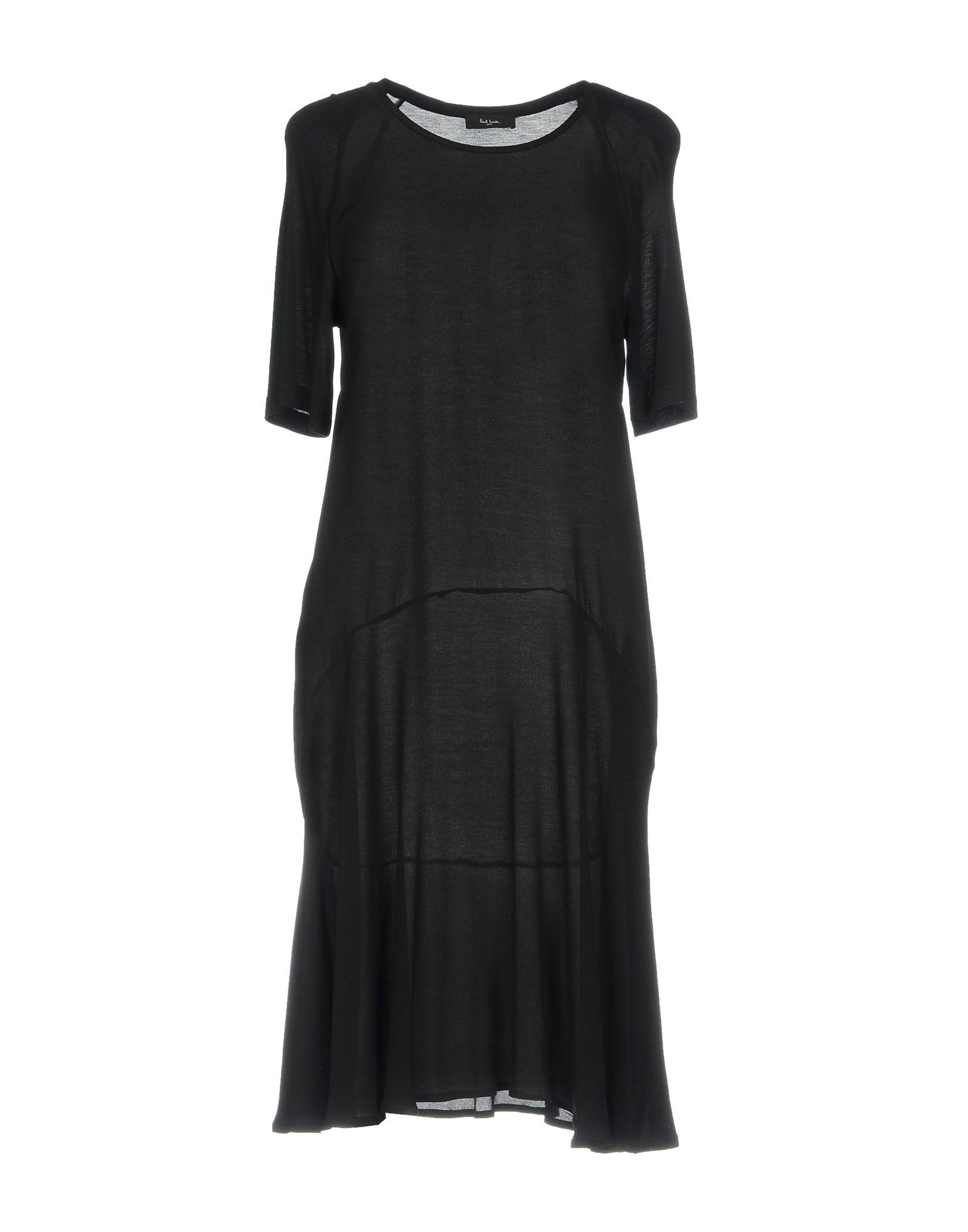 платье paul smith платья и сарафаны мини короткие PAUL SMITH BLACK LABEL Платье до колена
