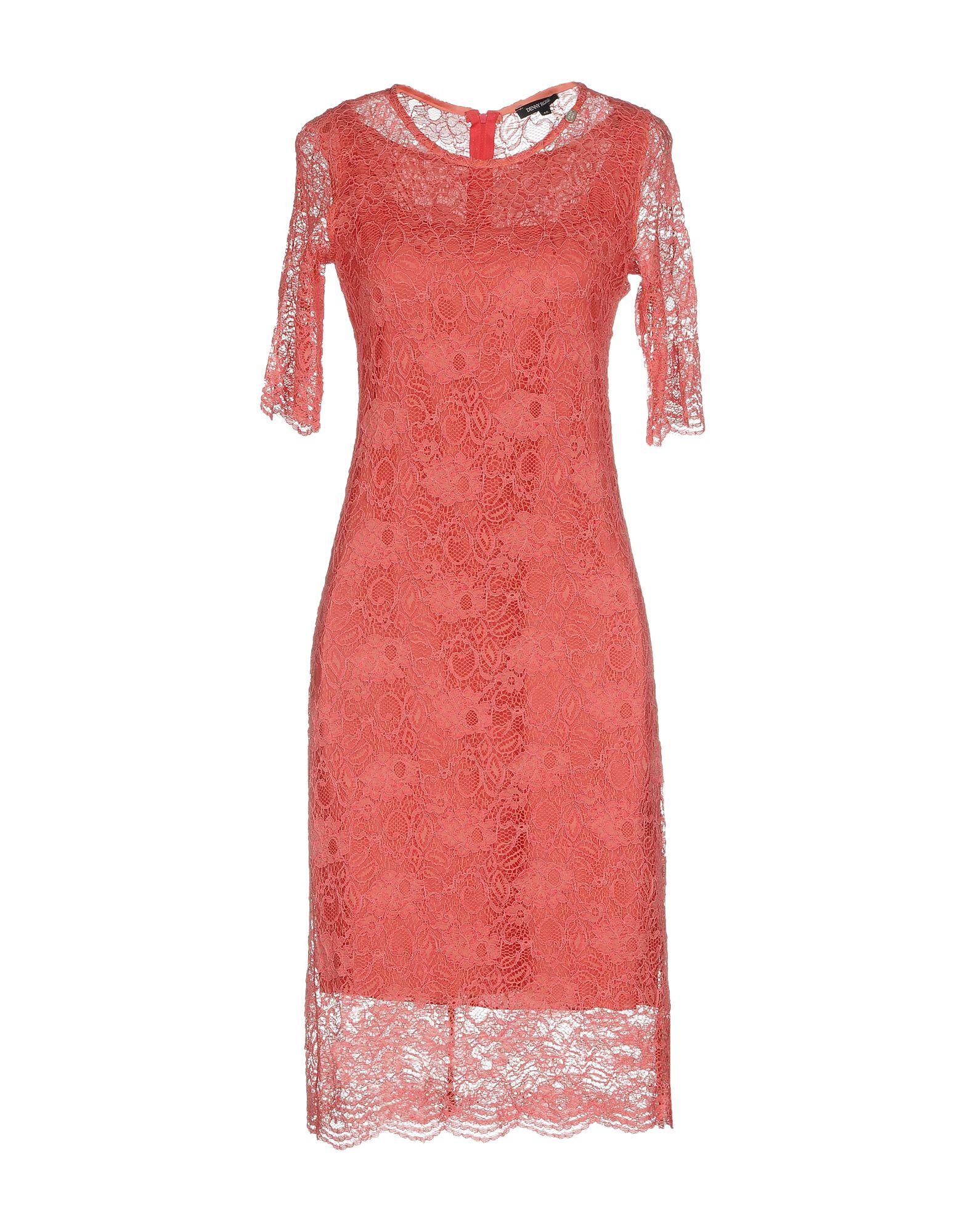 DENNY ROSE Платье до колена denny rose накидка для девочки 66drg61018 белый denny rose