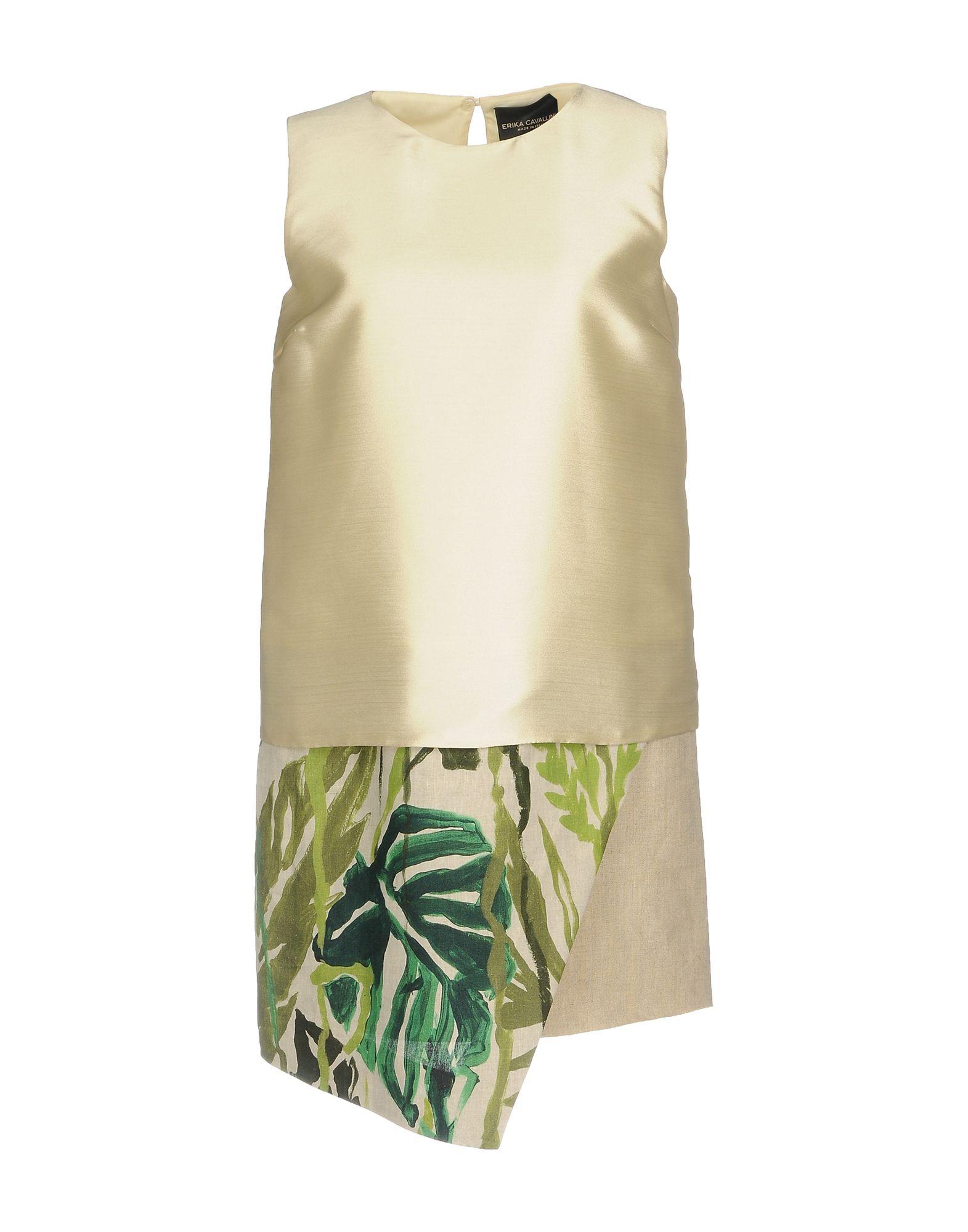 ERIKA CAVALLINI Короткое платье original new arrival 2017 nike as m nk imp lt jkt hd men s jacket hooded sportswear