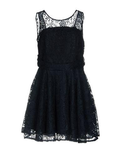 Фото - Женское короткое платье NO SECRETS темно-синего цвета