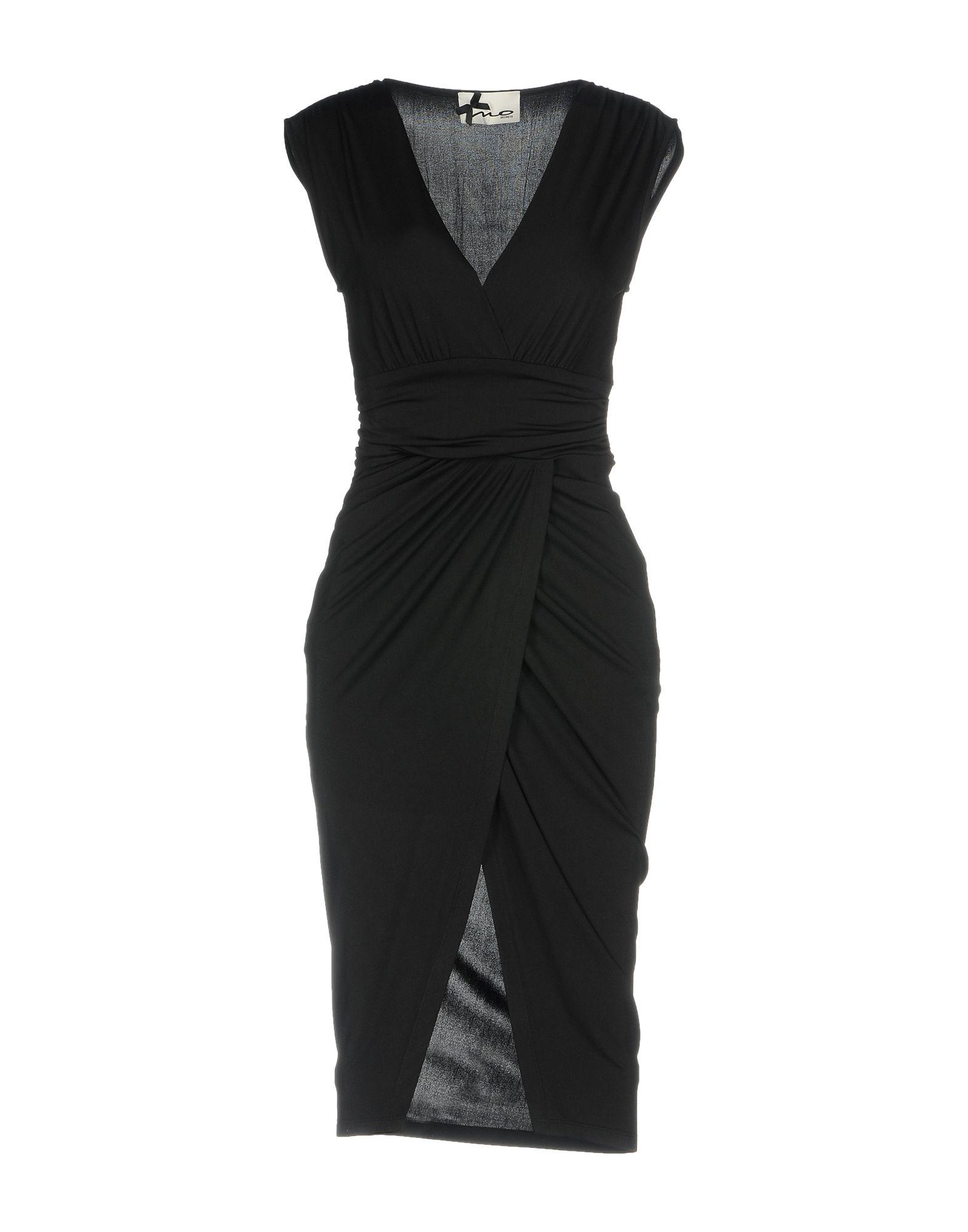 NO SECRETS Damen Knielanges Kleid Farbe Schwarz Größe 7