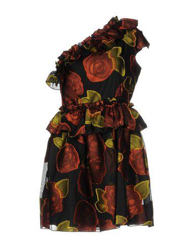 Фото - Женское короткое платье NORA BARTH черного цвета