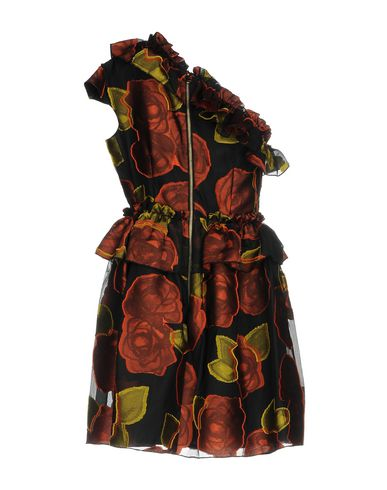 Фото 2 - Женское короткое платье NORA BARTH черного цвета