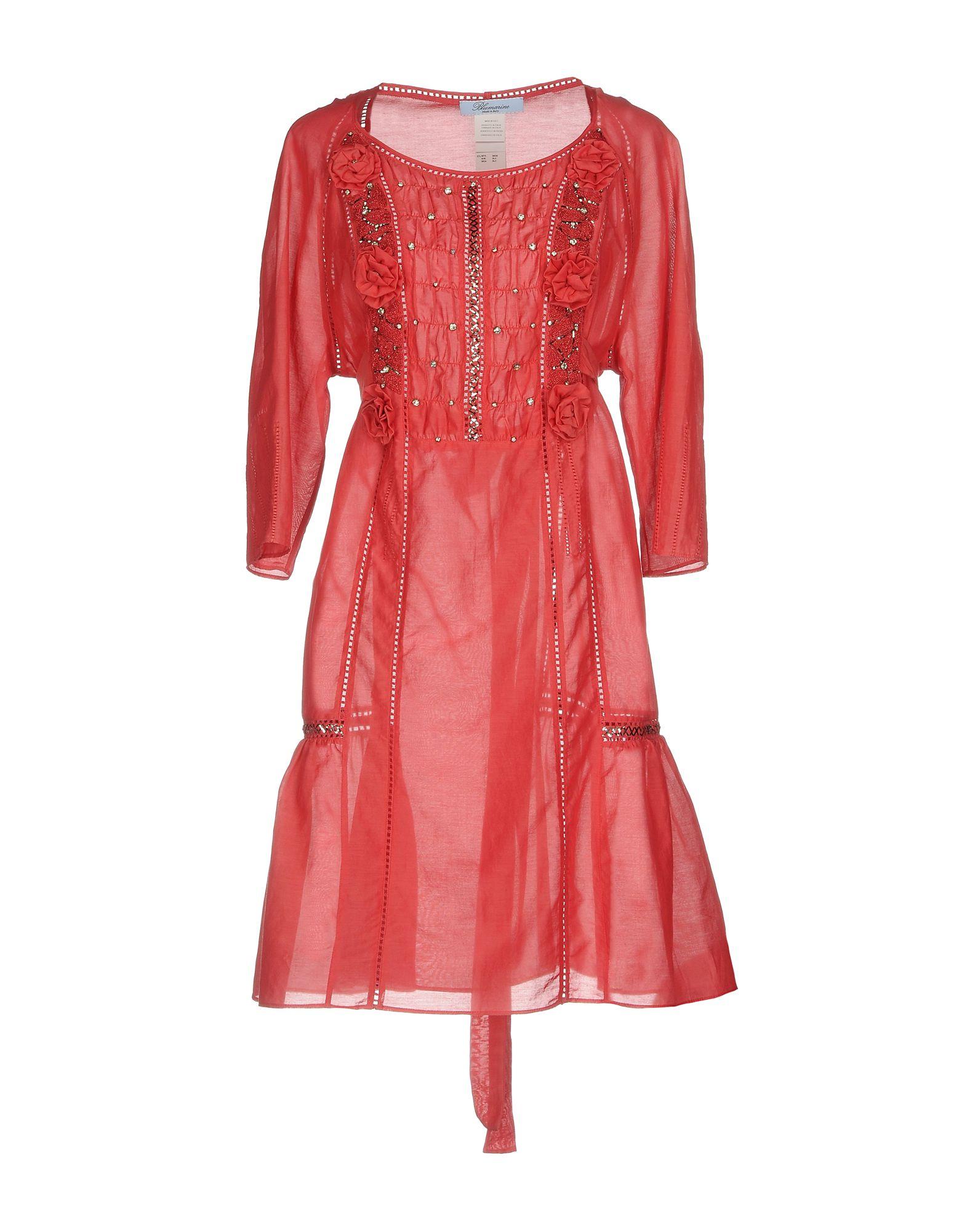 BLUMARINE Короткое платье lisa corti короткое платье