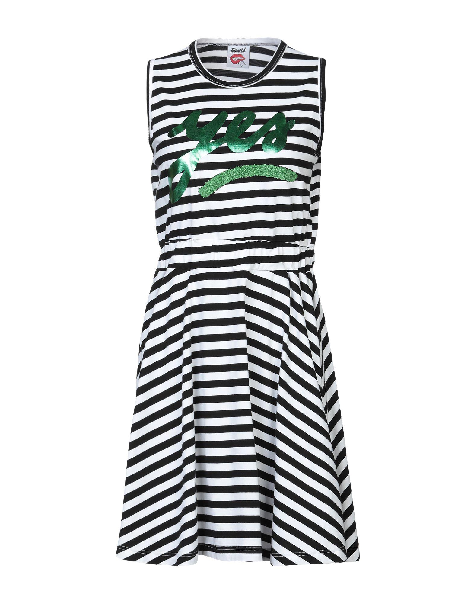 FOLLOW US Короткое платье цена 2017
