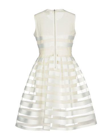 Фото 2 - Женское короткое платье NO SECRETS белого цвета