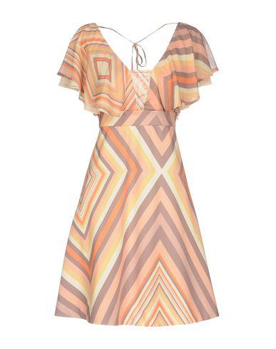 Купить Женское короткое платье NO SECRETS оранжевого цвета