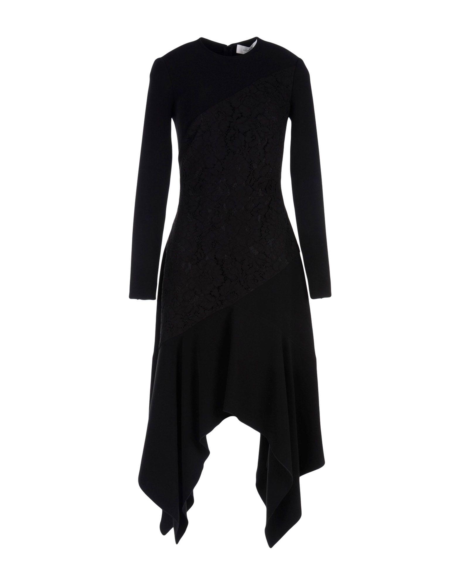LOVER Midi Dress in Black