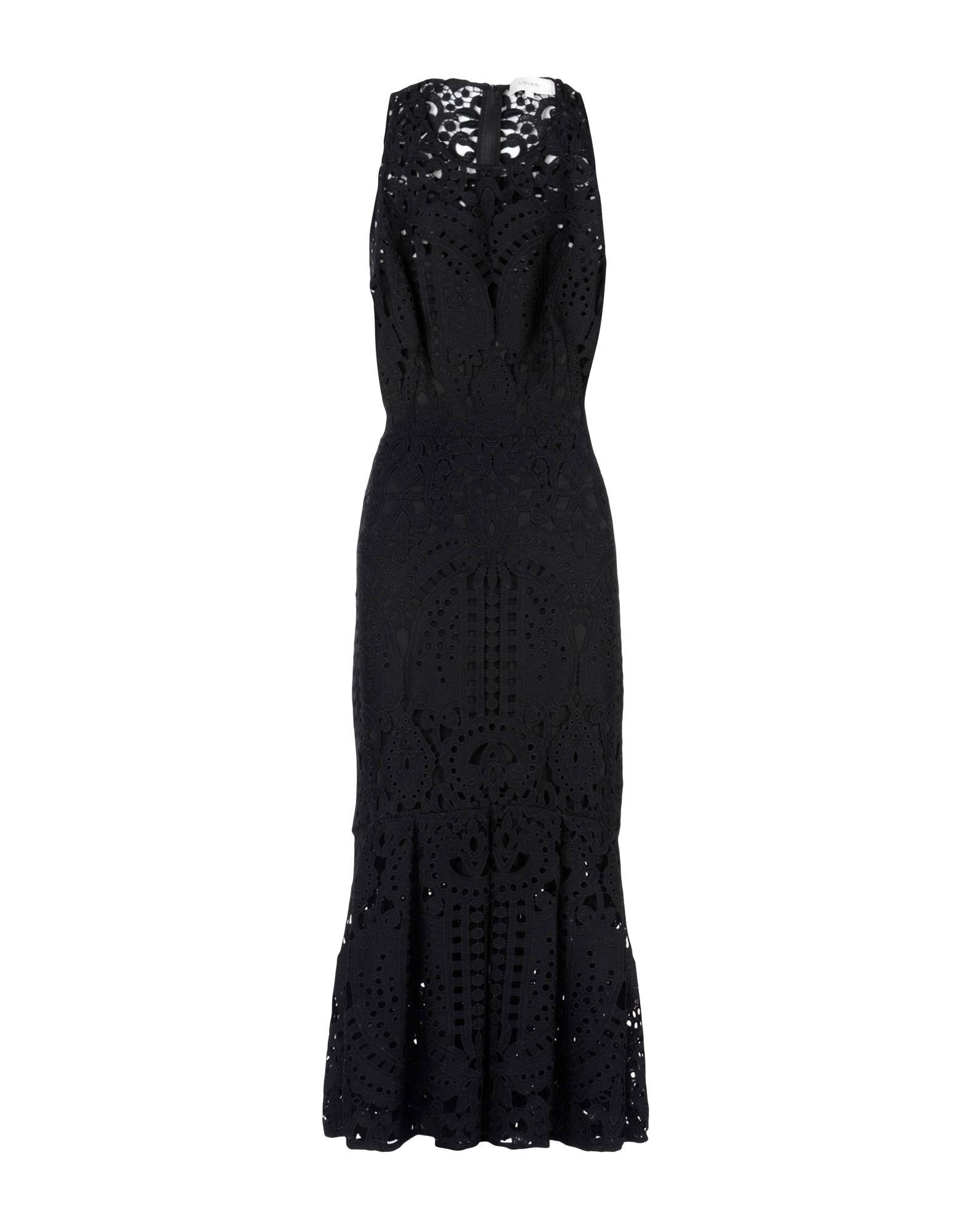 LOVER Платье длиной 3/4 tenax платье длиной 3 4