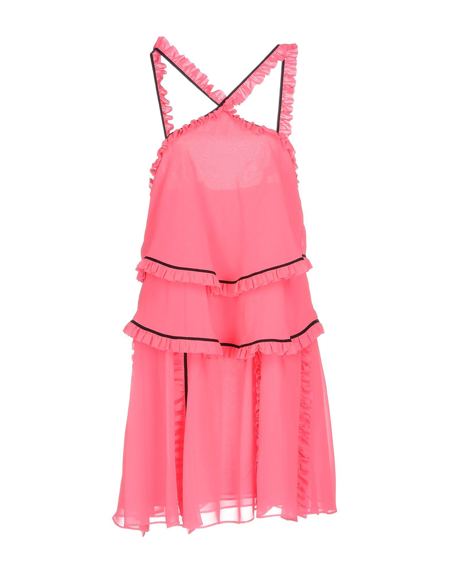 MSGM Короткое платье редуктор walcom 61000