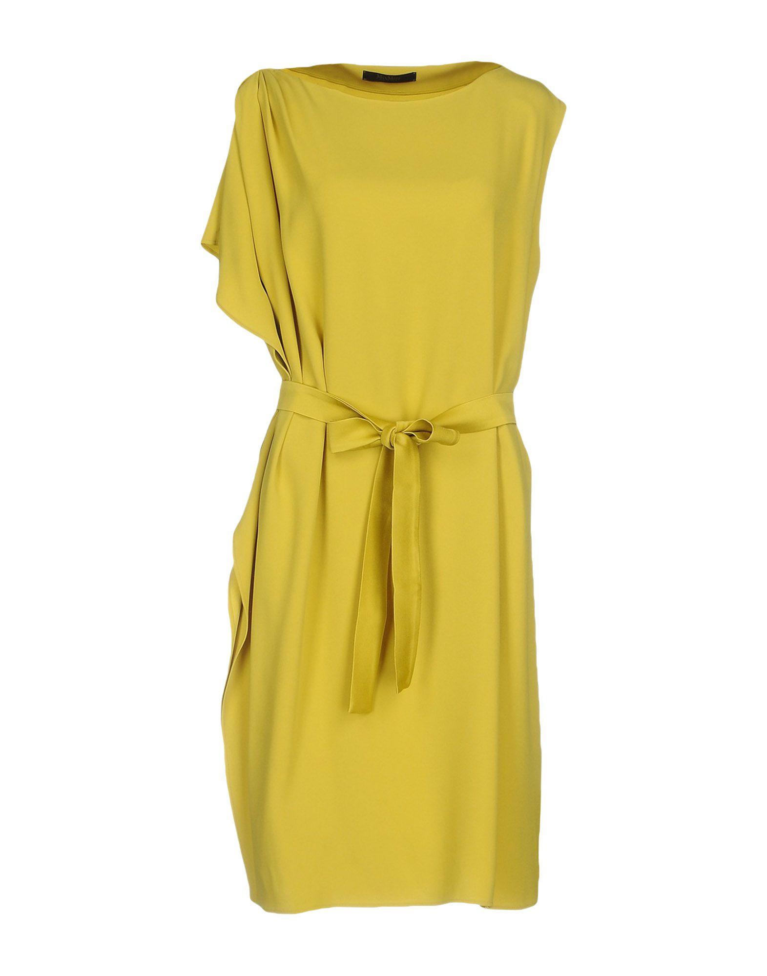 все цены на MAX MARA Платье до колена в интернете
