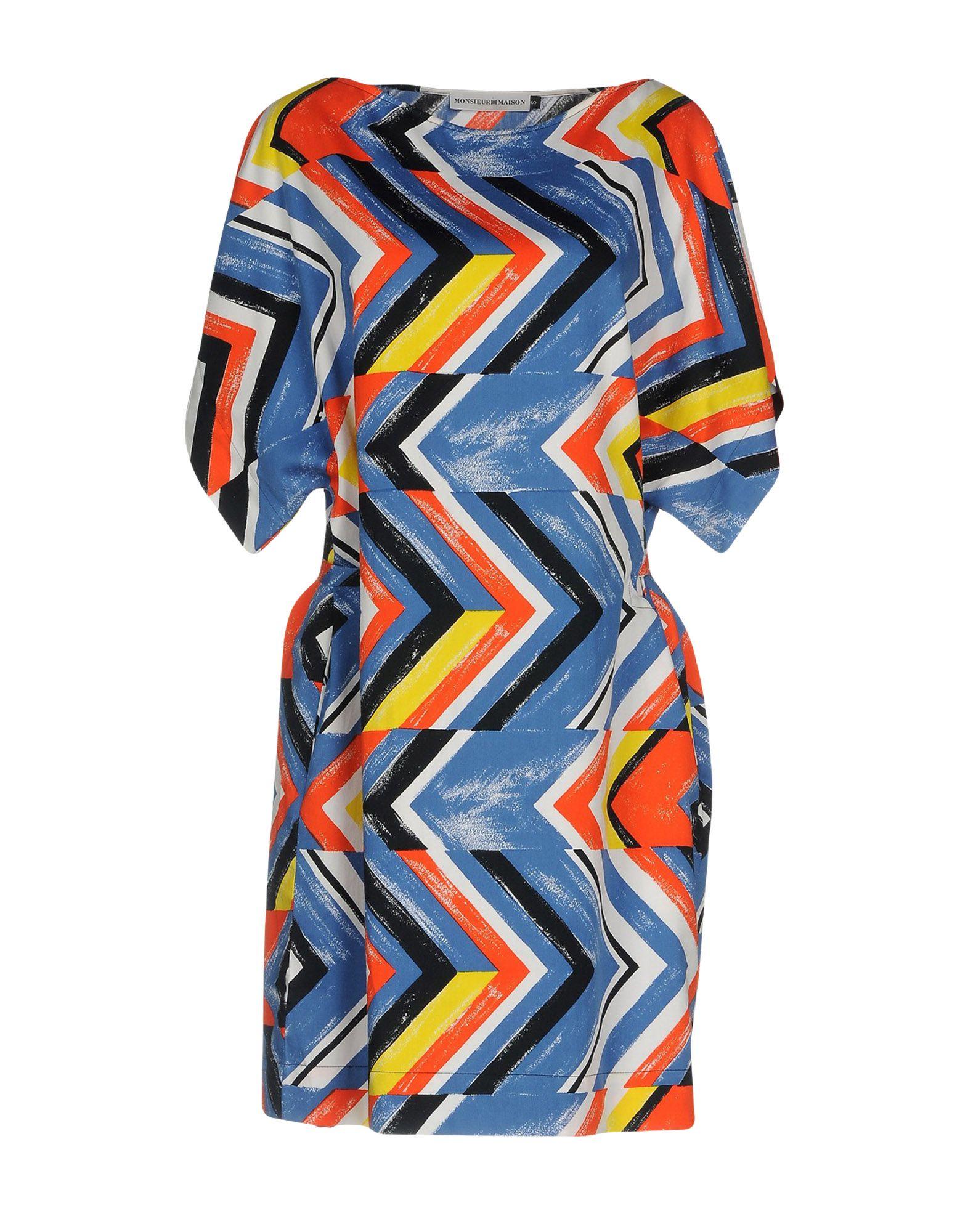MONSIEUR MAISON Короткое платье petri короткое платье