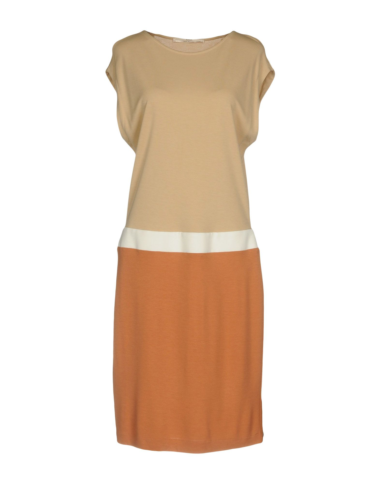 BARBON Платье до колена paolo casalini платье до колена