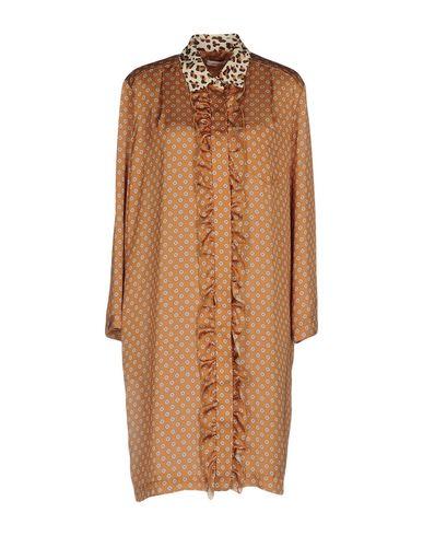Купить Женское короткое платье GOLD CASE цвет охра