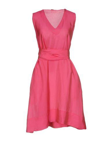 Купить Женское короткое платье MALÌPARMI цвета фуксия