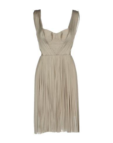 Купить Женское короткое платье MARIA LUCIA HOHAN светло-серого цвета
