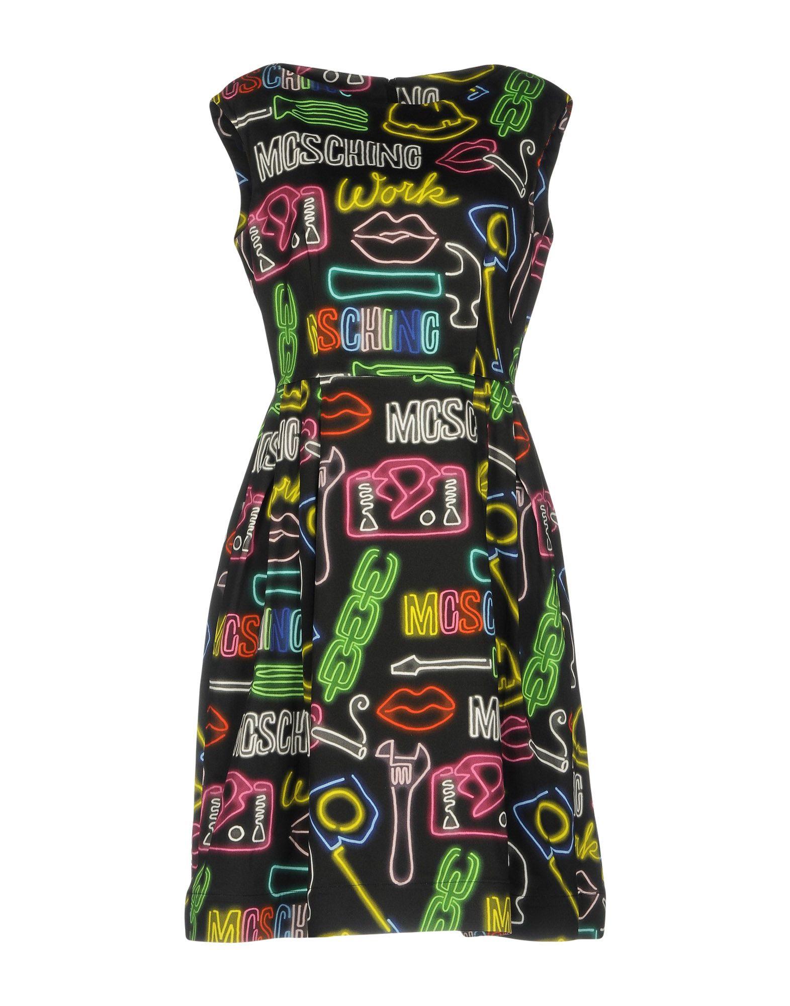 MOSCHINO COUTURE Платье до колена платье домашнее moschino moschino mo351ewqhh04