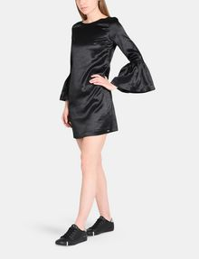 ARMANI EXCHANGE METALLIC BELL-SLEEVE DRESS Mini dress Woman d