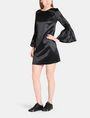 ARMANI EXCHANGE METALLIC BELL-SLEEVE DRESS Mini dress Woman a