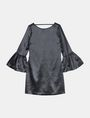 ARMANI EXCHANGE METALLIC BELL-SLEEVE DRESS Mini dress Woman b