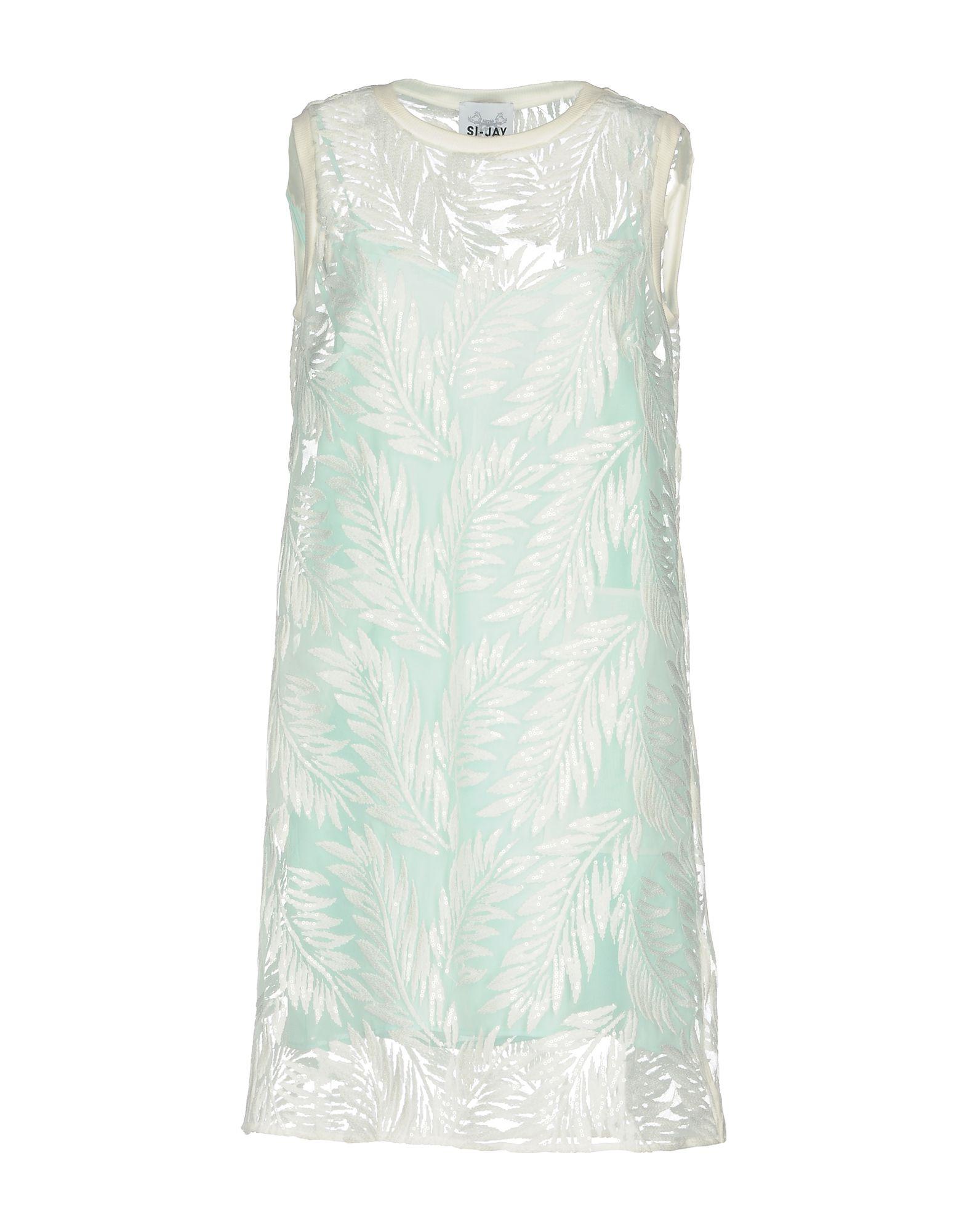 SI-JAY Короткое платье anais gillian комбинация