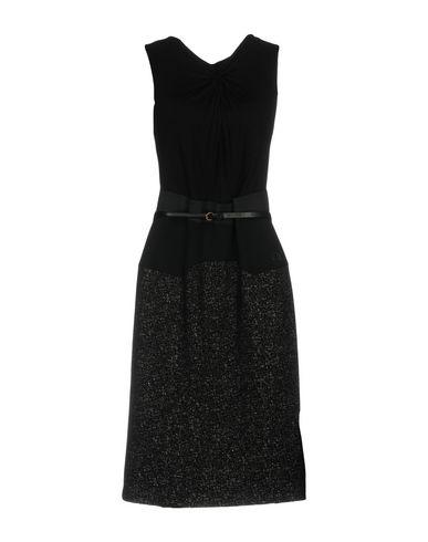 Купить Платье до колена от VDP COLLECTION черного цвета