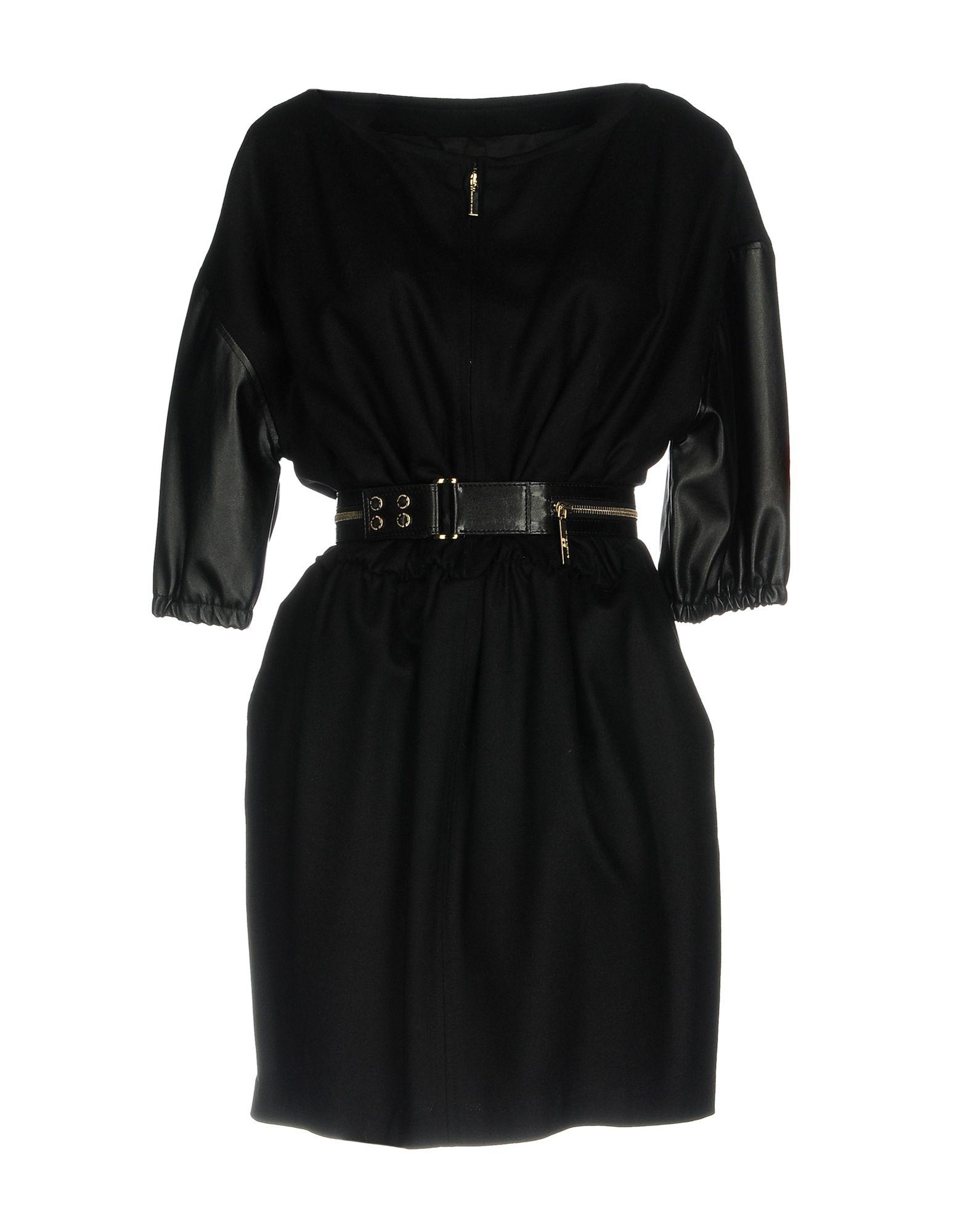 ELISABETTA FRANCHI 24 ORE Короткое платье выпуск ore 11 4 вращающ пробка
