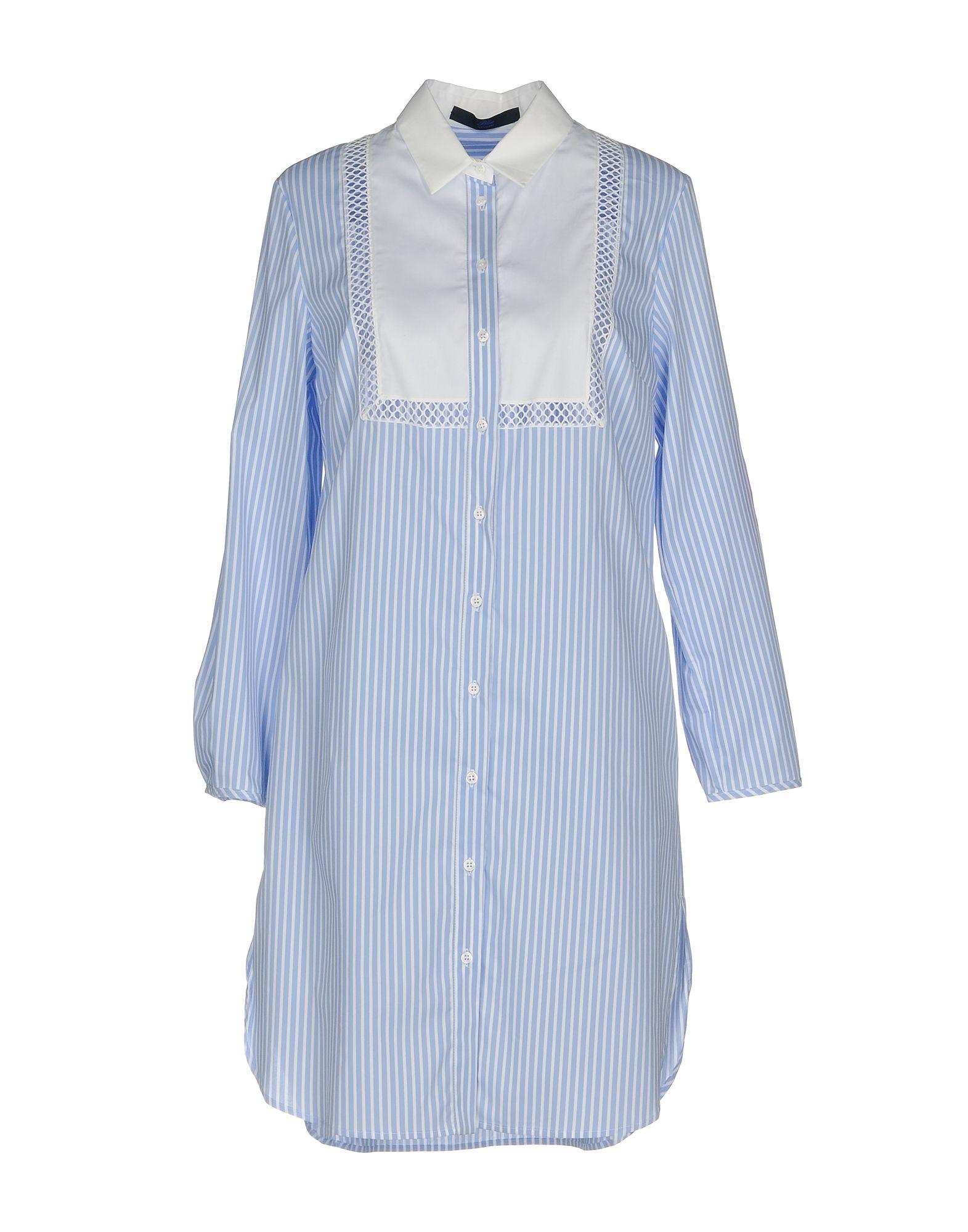 BLUE LES COPAINS Короткое платье lisa corti короткое платье
