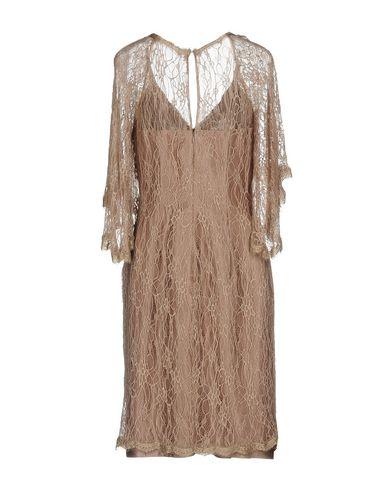 Фото 2 - Женское короткое платье PASTORE COUTURE цвет голубиный серый