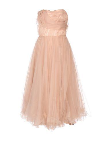 Фото - Платье до колена цвет телесный