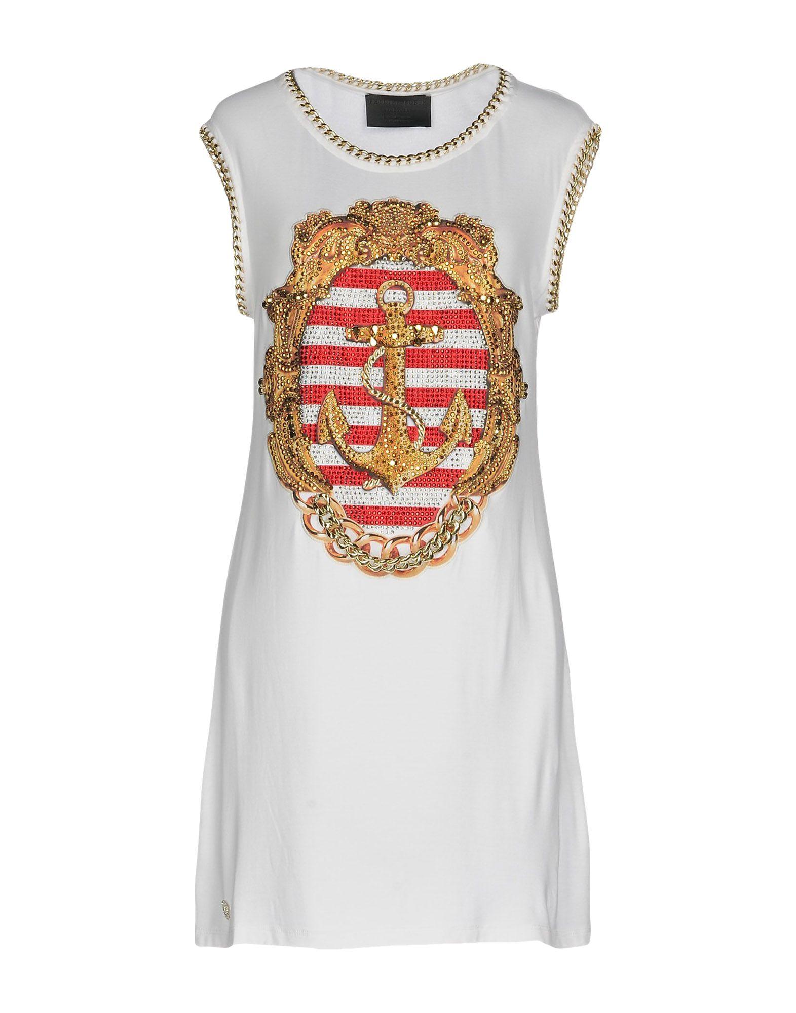 PHILIPP PLEIN Короткое платье платье philipp plein платье