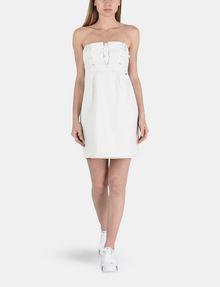 ARMANI EXCHANGE STRAPLESS STUD-DETAIL DRESS Mini dress Woman a